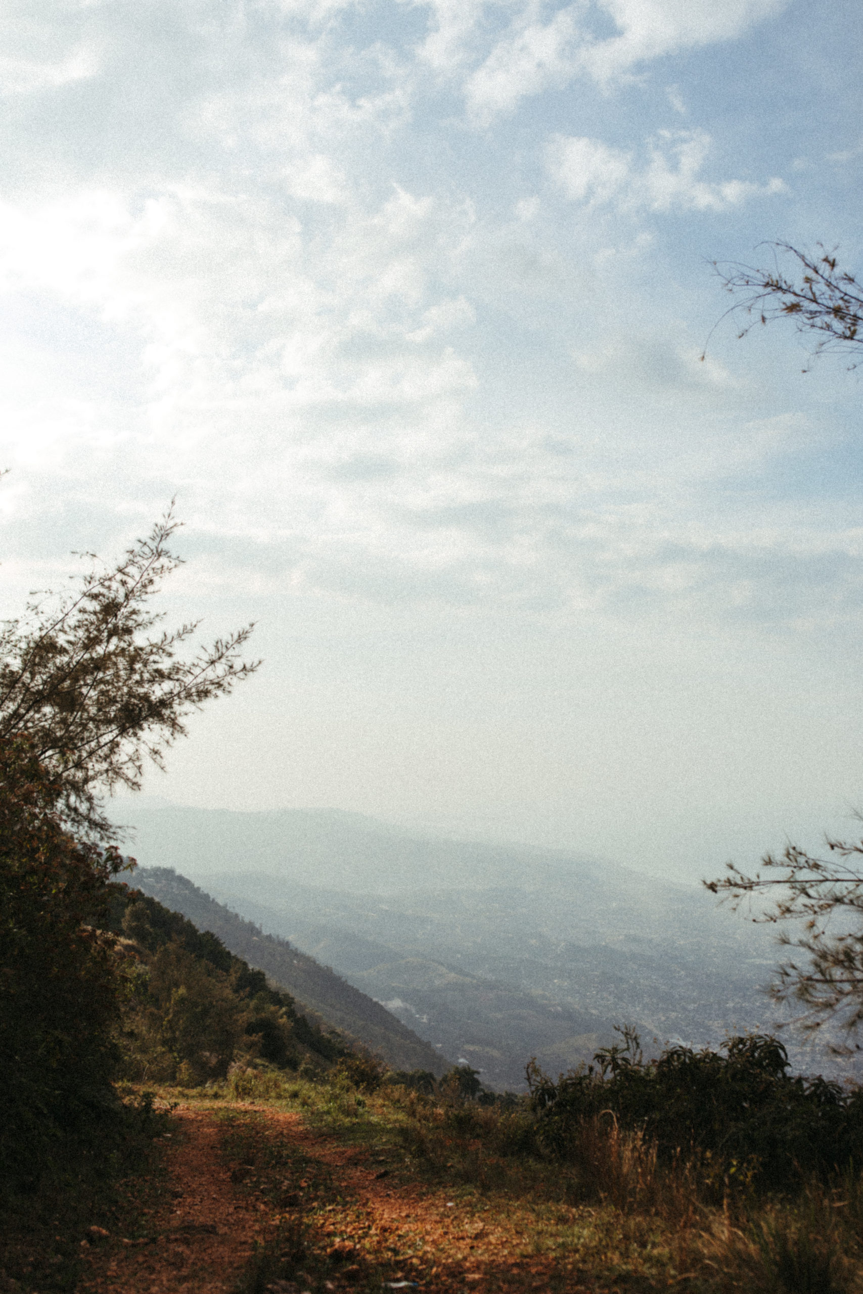 Landscape photograph in the mountains of Kenscoff, Haiti